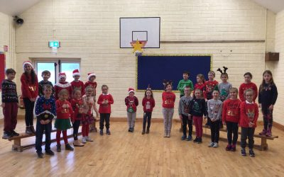 1st and 2nd Class Christmas Performance – Video