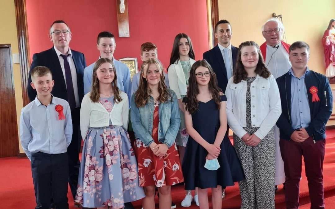 6th Class Confirmation 2021