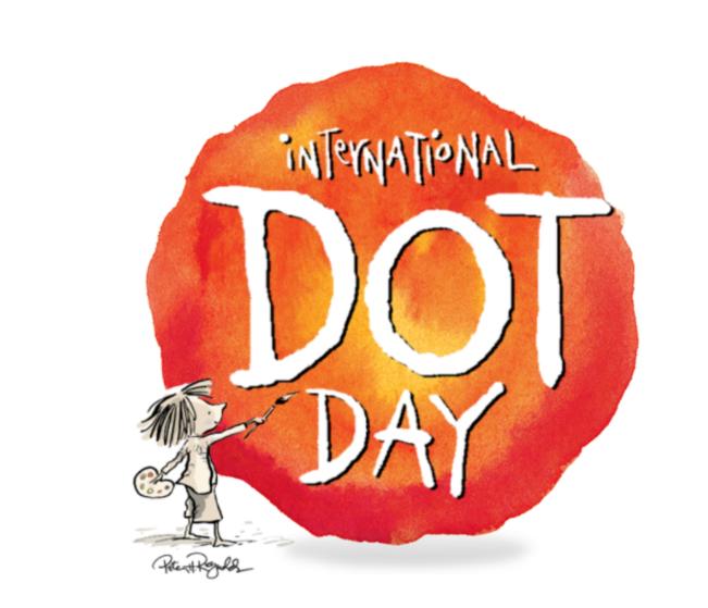 3D art for International Dot Day!